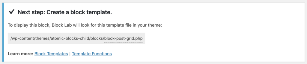 How to build a Custom Post Grid block using WP Query